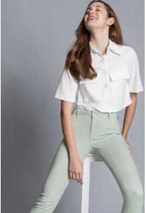 Calça Jeans Skinny Bali Verde Spa - Lez A Lez