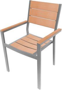 Cadeira Palmeira Cinza Polywood 89 Cm (Alt) - 43501 - Sun House