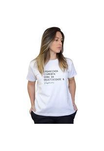 Camiseta Boutique Judith Virginiana Branco