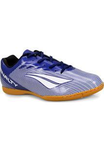 Tenis Masc Penalty 1241516500 Futsal Stm Amazonas Viii Azul/Branco