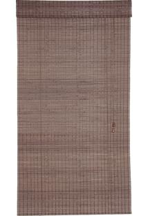 Persiana Roller Ii Bambu Marrom 80X160Cm