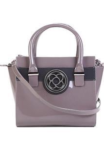 Bolsa Petite Jolie Handbag Feminina - Feminino-Lilás
