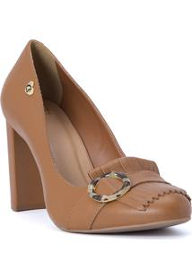 Scarpin Caramelo Cs Club Natural - Feminino - Dafiti