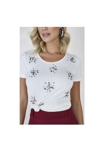 T-Shirt Off White Kiara Cloá