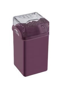 Saleiro / Pimenteiro Casual 5 X 4 X 8 Cm Roxo Púrpura Coza