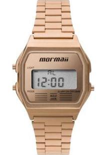 Relógio Feminino Mormaii Vintage Digital Mojh02Ai/ - Unissex-Dourado