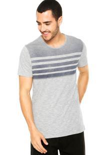 Camiseta Aramis Listras Cinza