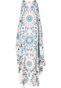 Roberto Cavalli Graphic Tunic Dress - Branco
