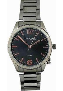 Relógio Analógico Mondaine Feminino Chumbo 53757Lpmvse2 - Feminino