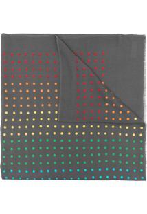 Janavi India Cachecol Nyc De Lã Merino - Cinza