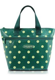 Bolsa Térmica Bolinha Jacki Design Look Verde - Kanui