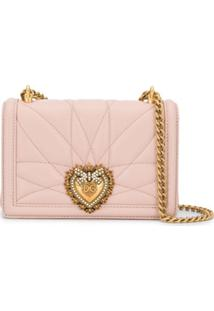 Dolce & Gabbana Devotion Heart Crossbody Bag - Neutro