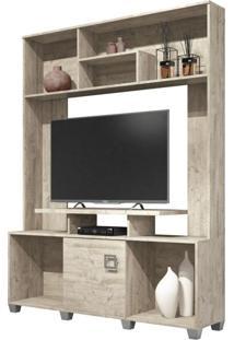 Estante Home Theater Para Tv Até 47 Pol. Milla Aspen - Hb Móveis
