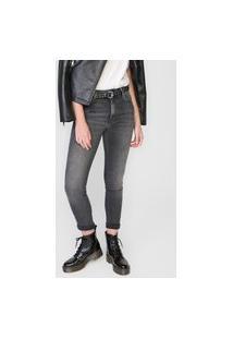Calça Jeans Ellus Skinny Onix Preta