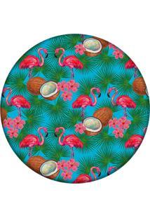 Tapete Love Decor Redondo Wevans Tropical 84Cm