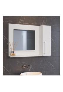 Espelheira Para Banheiro 75Cm Criando Mobilia Ep03 Com 1 Porta