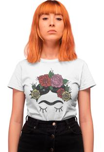 Camiseta Básica My T-Shirt The Flowers Branca