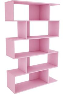 Estante Twister Tililin Móveis Quartzo Rosa