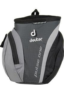 Pochete Deuter Pulse One Com Compartimento Para Garrafa Preto