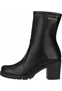 Bota Barth Shoes Ceres Feminina - Feminino-Preto