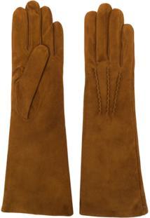 Gala Gloves Luvas Longa - Marrom