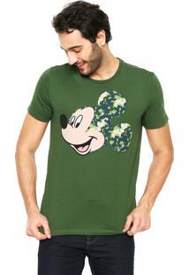 Camiseta Cativa Estampada Verde