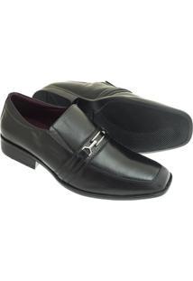 Sapato Social Sândalo Delta Masculino - Masculino-Preto