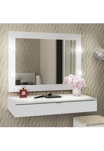 Espelho Camarim Branco Pe2006 - Tecno Mobili
