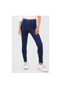 Calça Jeans Dzarm Skinny Casual Azul