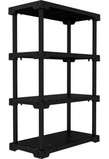 Estante Cube I Preta (127X82 Cm)