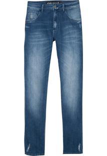 Calça John John Skinny Colombia Jeans Azul Masculina (Jeans Medio, 42)