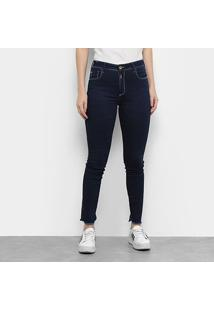 Calça Jeans Maria Filó Skinny Feminina - Feminino