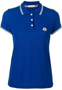 Moncler Camisa Polo - Azul