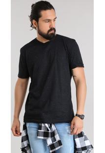 Camiseta Básica Botonê Preta