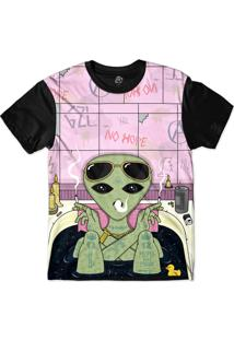 Camiseta Bsc No Hope Sublimada Preto