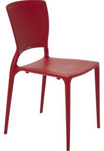 Cadeira Tramontina Sofia 92236/040 Vermelho Se
