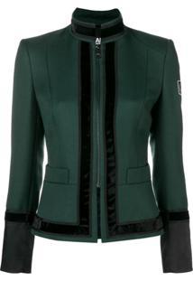 Karl Lagerfeld Jaqueta Com Zíper - Green