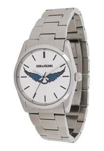 Zadig&Voltaire Relógio Timeless Wings - Prateado