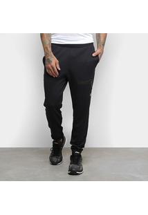 Calça Moletom Asics Condition Knit Track Masculina - Masculino-Preto