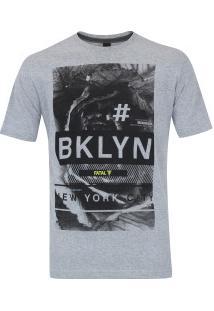 Camiseta Fatal Estampada 20247 - Masculina - Cinza