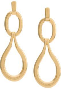 Goossens Link Earrings - Dourado
