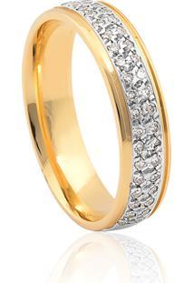 Aliança De Casamento Em Ouro 18K 5,1Mm Anatômica