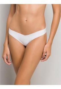 Calcinha Fio Dental Nude Hope 3785 P/Eg Branco