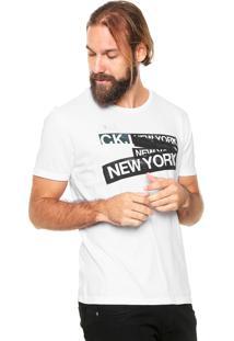 Camiseta Calvin Klein Jeans New York Branca