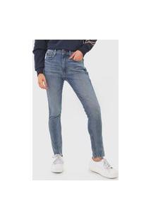 Calça Jeans Polo Ralph Lauren Skinny Estonada Azul