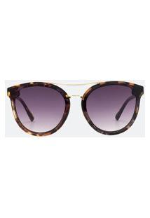 Óculos De Sol Feminino Modelo Redondo | Accessories | Marrom | U