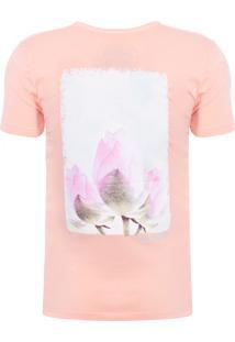 Camiseta Masculina Lótus - Laranja