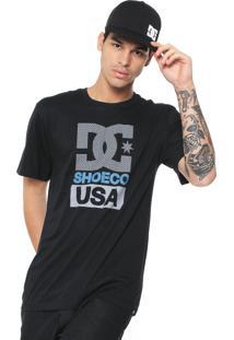 Camiseta Dc Shoes Apex Preta