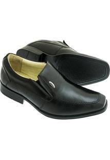 Sapato Social Sândalo Plume Free Masculino - Masculino-Preto