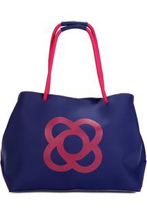 8194d73db ... Bolsa Petite Jolie Shopper Claire Feminina - Feminino-Marinho